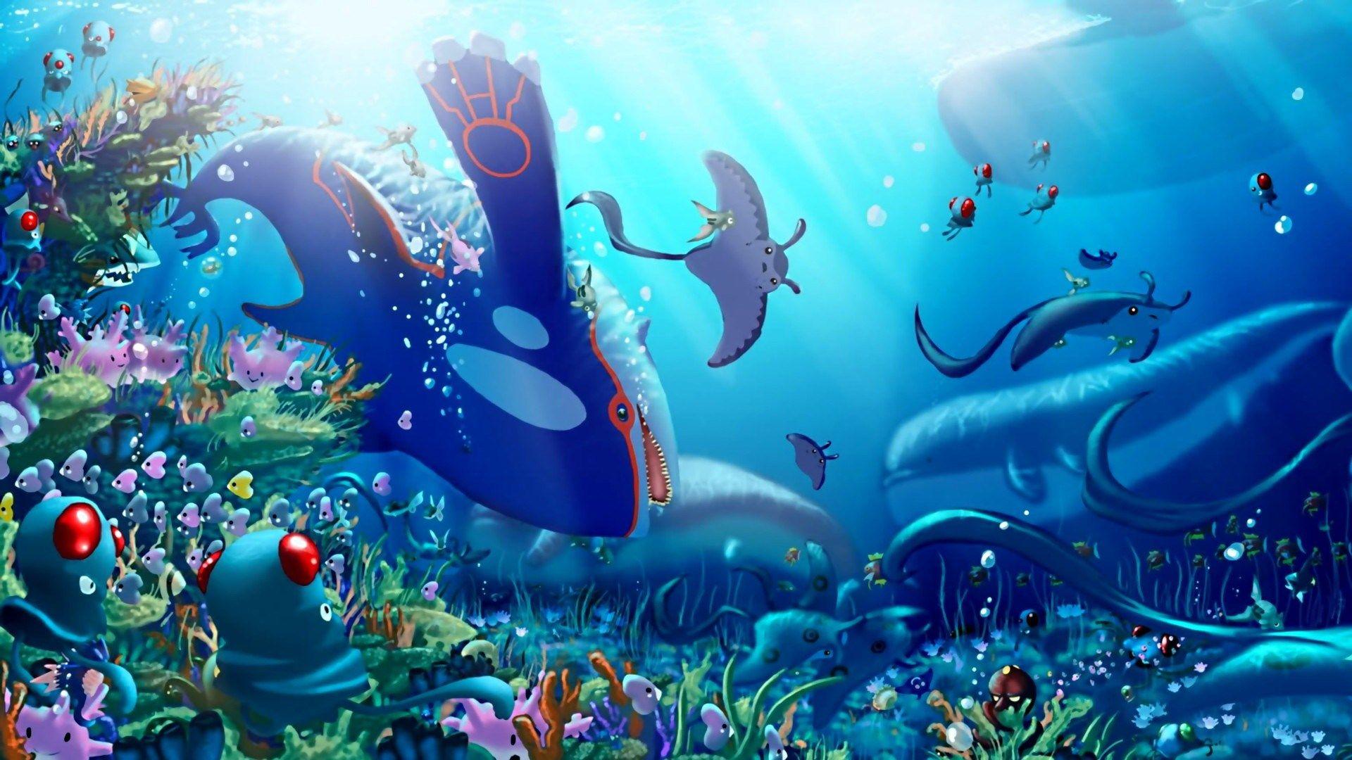 Cool Blue Sea Pokemon Wallpapers Hd Cool Pokemon
