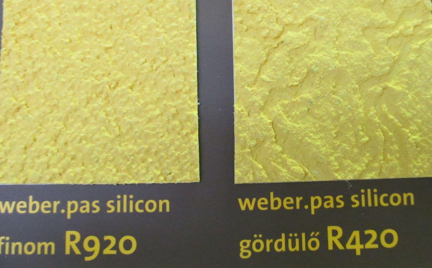 weber.pas silicon vékonyvakolat
