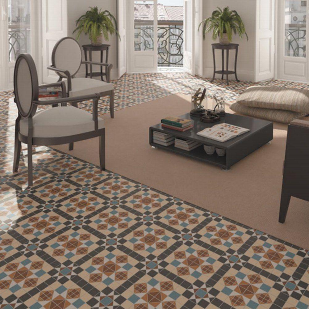 Vives dorset marron victorian effect 316x316cm floor tile vives dorset marron victorian effect 316x316cm floor tile dailygadgetfo Image collections