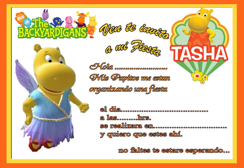 Tarjetas De Cumpleaños Para Imprimir Tarjeta De Invitacion