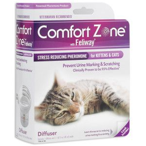 Comfort Zone With Feliway Plug In And Refills Petsmart Will Need This When We Have A Baby Pets Cats Cat Health