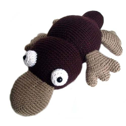 Platypus Crochet Pattern Haken Knuffs Pinterest Omas Puppe
