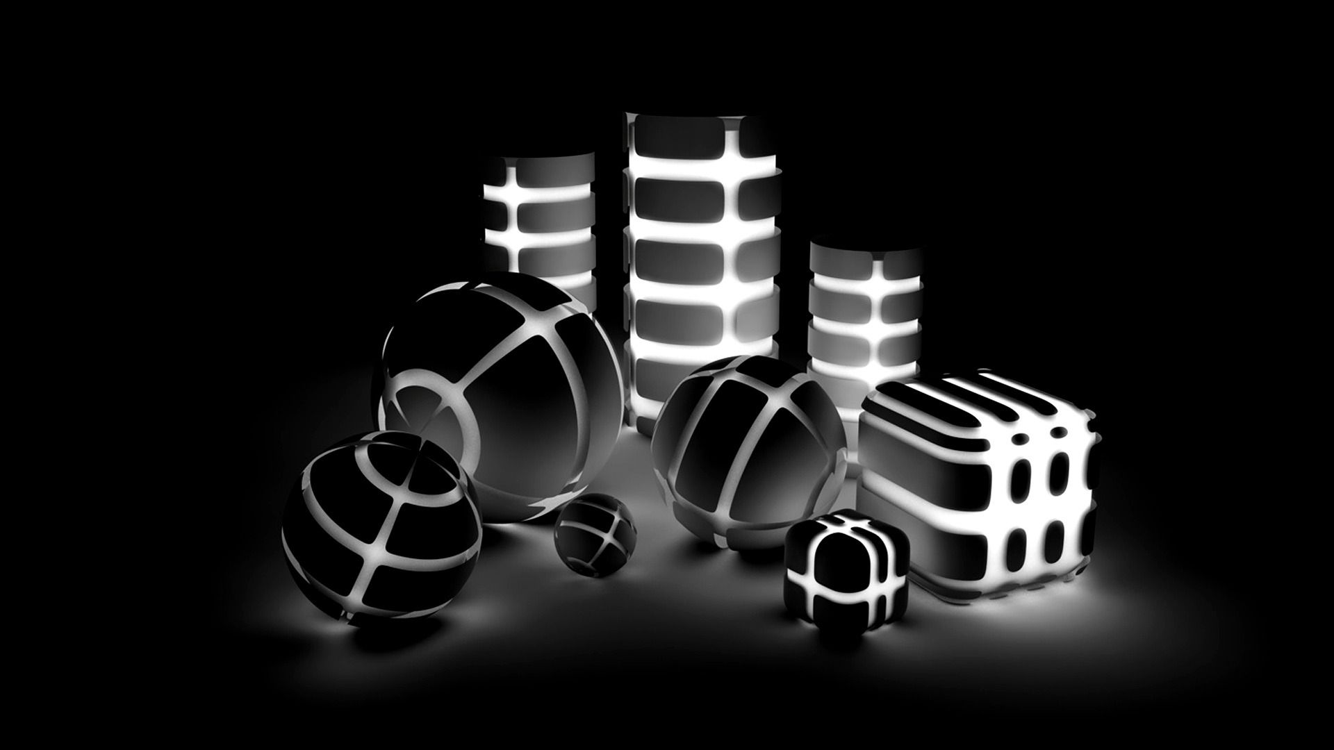 Hd wallpaper black and white - 3d Wallpapers Black And White Hd Wallpaper
