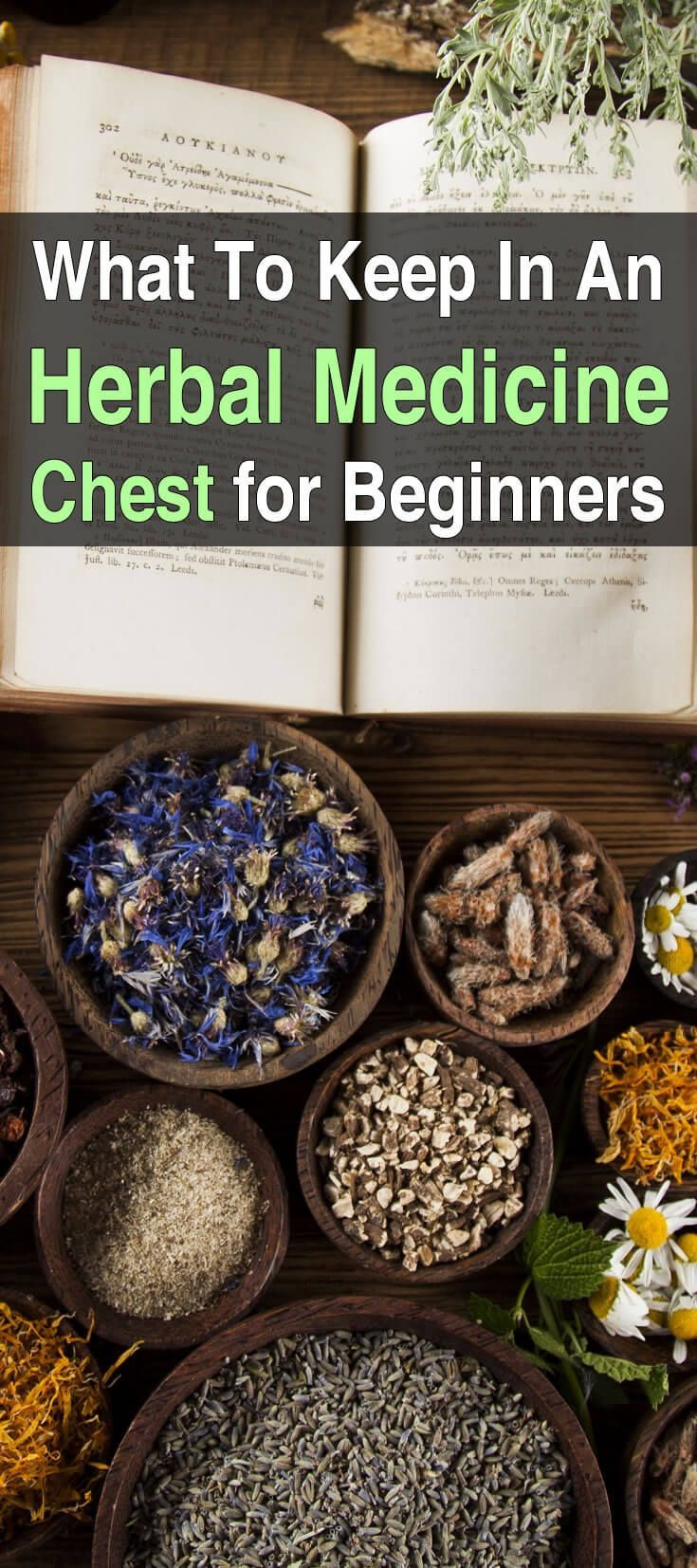 to Build a Medicinal First Aid Kit This article lists the most important herbal medicines and essential oils and what they're for. This is the place to start if you're new to all this.This article lists the most important herbal medicines and essential oils and what they're for. This is the place to start if you're new to all this.