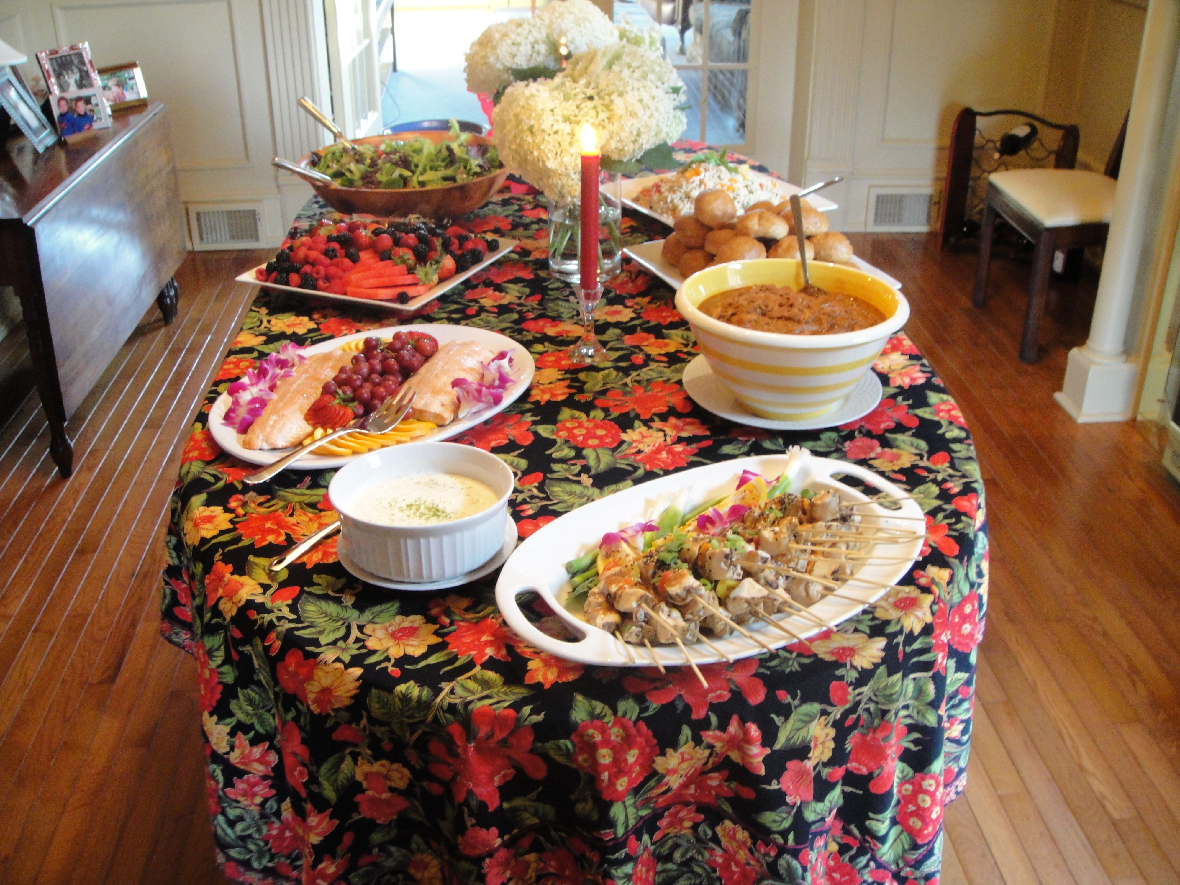 Small catering job I did for a neighbor of mine...