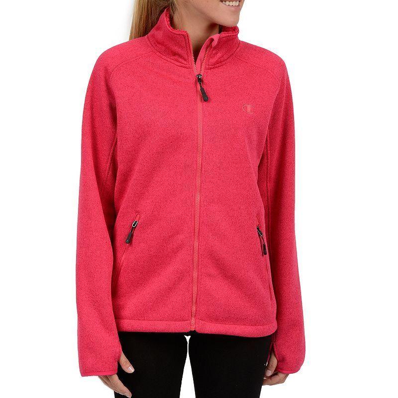 e713edec7e5 Plus Size Champion Sherpa-Lined Fleece Jacket