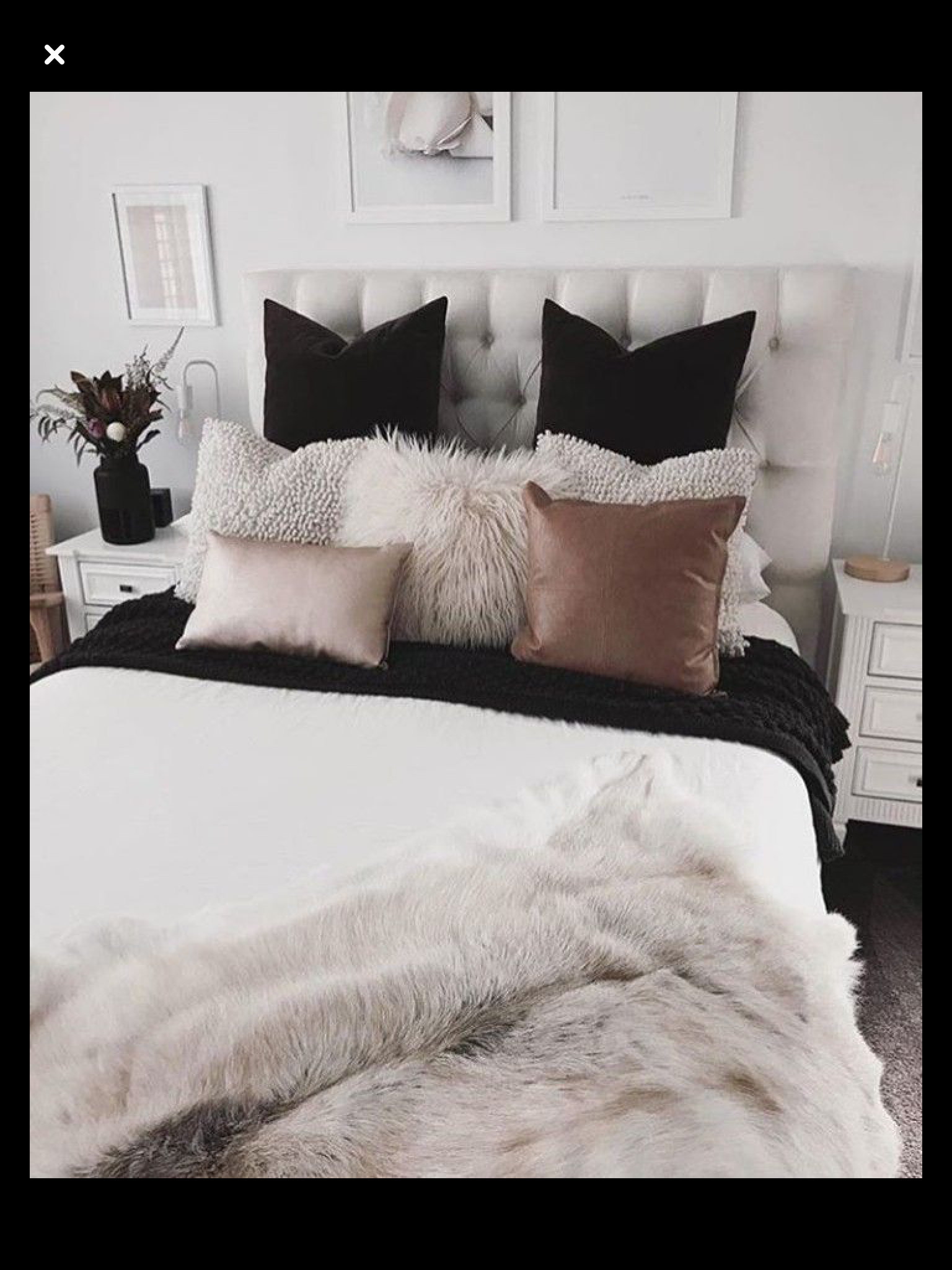 Bedroom Inspo Black White Pink Home Bedroom Bedroom