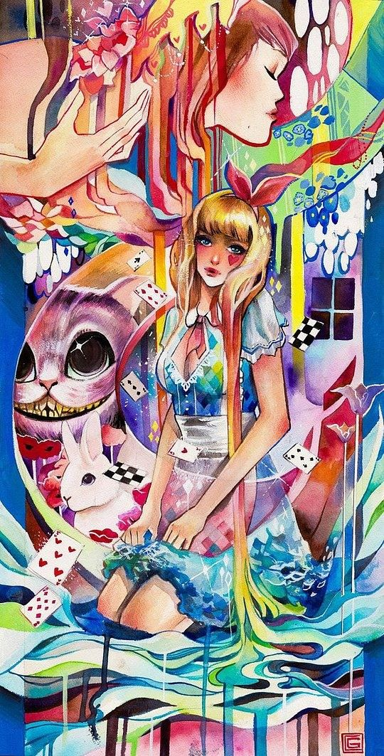 Colorful Illustrations by Rian Gonzales