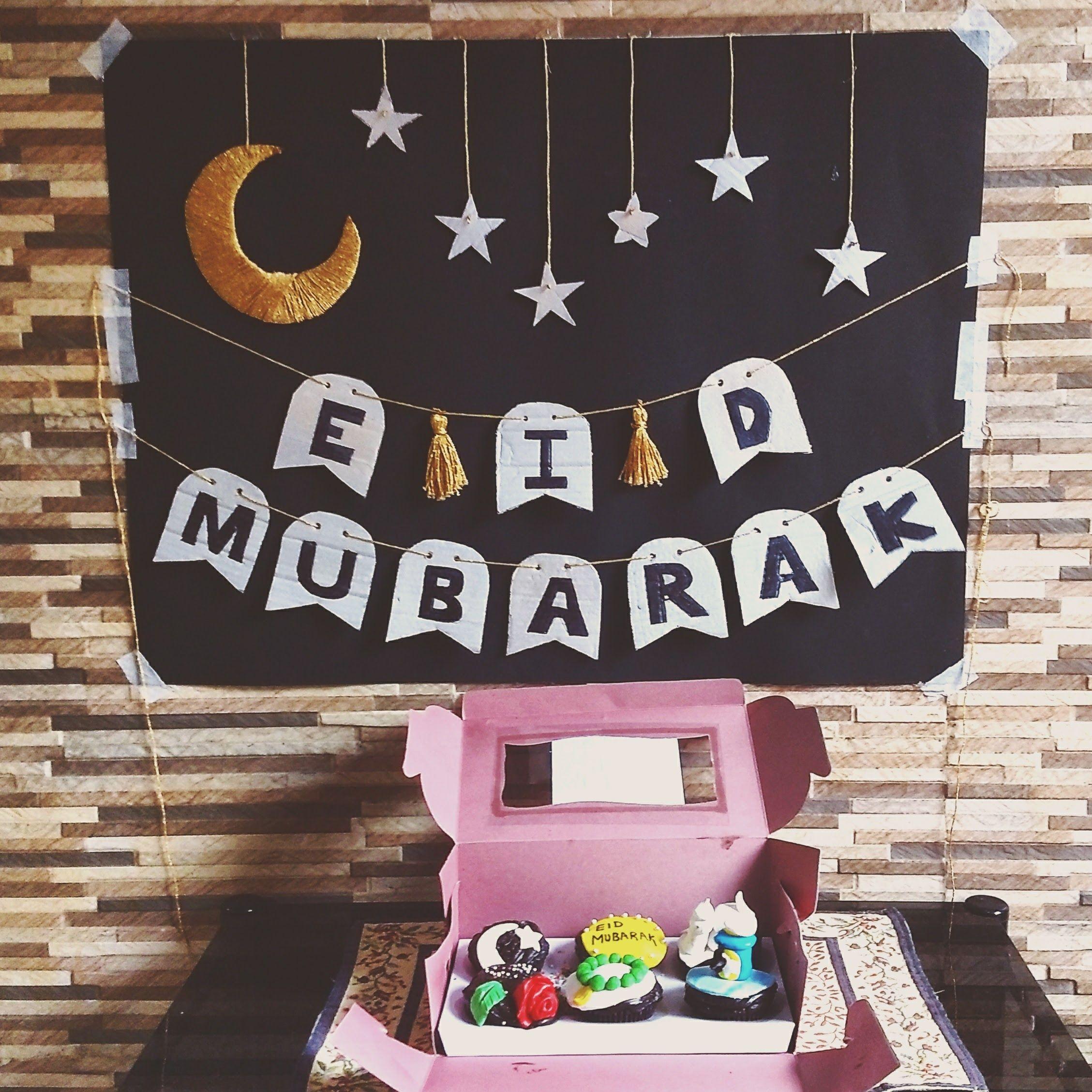 Eid Decoration Eiddecor Handmadedecor Moonandstars Diy