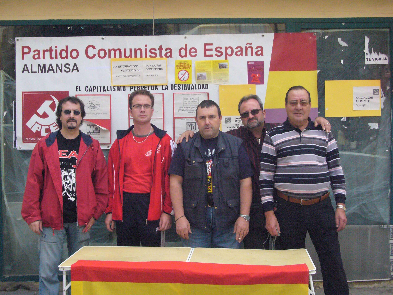 La Agrupación del PCE Almansa en 2009