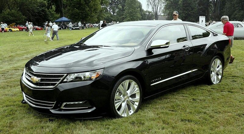 2015 Impala SS Coupe. I didn't even know they were making a coupe ...