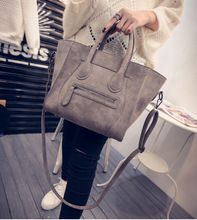 Clásico Simple sonrisa de la muchacha del estilo de euramerican bolso de cuero de LA PU mujeres cross body bolsa de hombro de las mujeres vintag bolso j5985(China (Mainland))