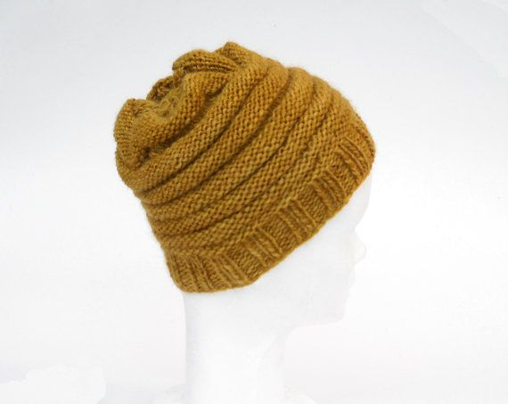 100% wool hat __ knit by irene b, on etsy