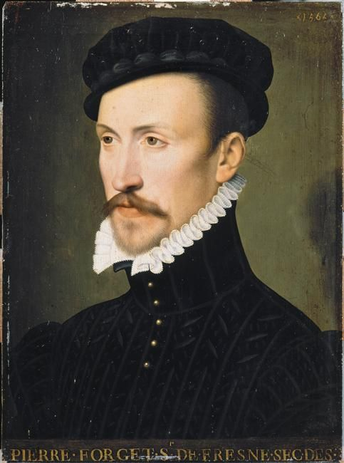 Pierre Forget 1544 1610 Lord Of Fresnes Francois Clouet