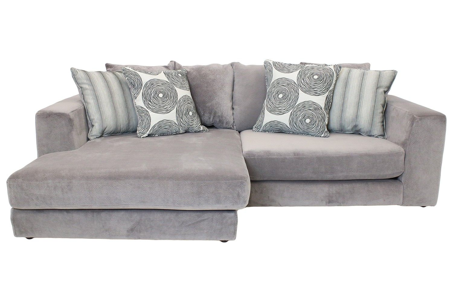 Cloud Graphite Sectional - Sectionals - Living Room | Mor Furniture ...