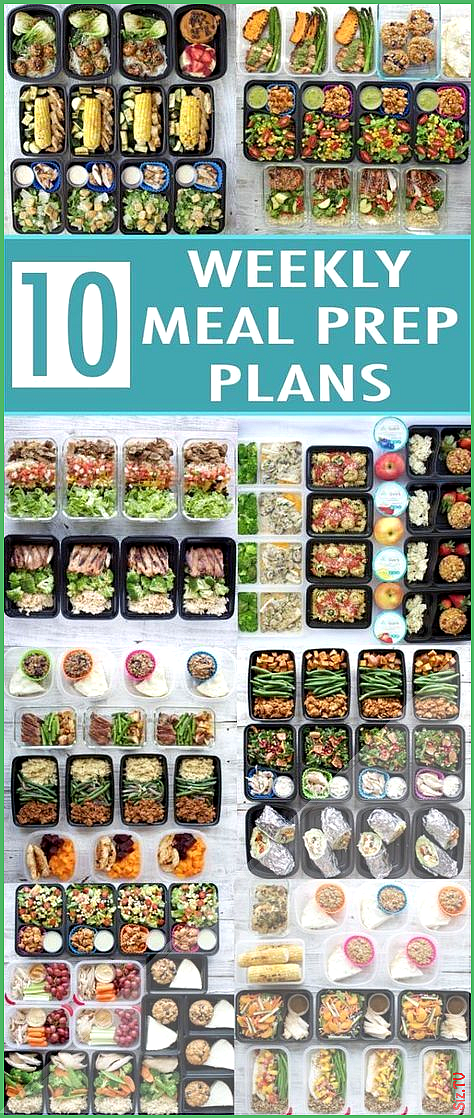 Healthy New Year 2017 Meal Prep Round-Up  Peanut Butter and Fitness Healthy New Year 2017 Meal Prep...