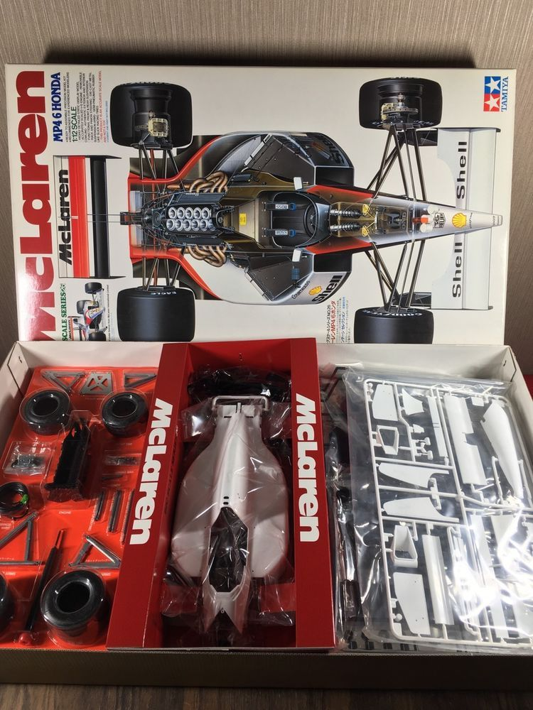 TAMIYA MCLAREN MP4/6 1/12 SCALE - SECOND RELEASE AND ...