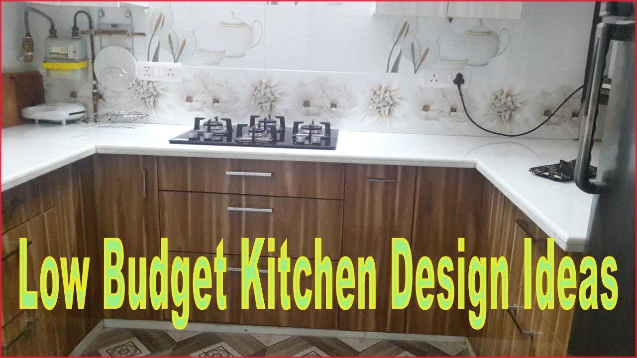 Latest Modular Kitchen Design How I Renovate My Kitchen At Low Budget Counter To Complete Kitchen Design Small Kitchen Design Budget Kitchen Inspiration Design