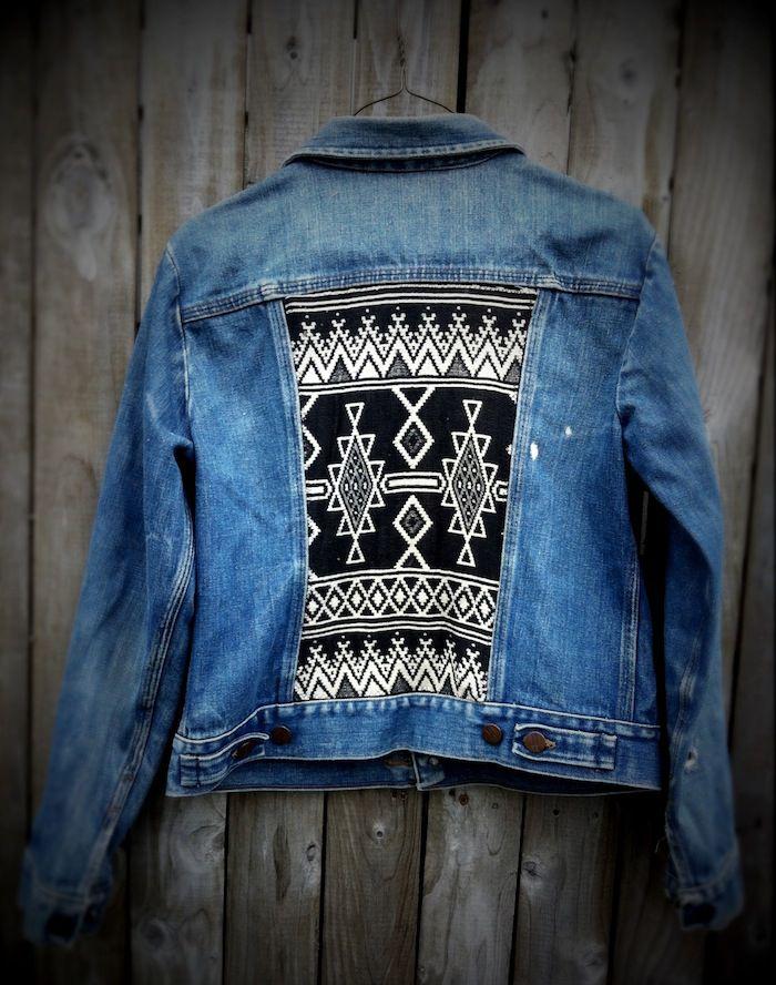Diy To Try Customized Denim Jackets My Style Pinterest Denim