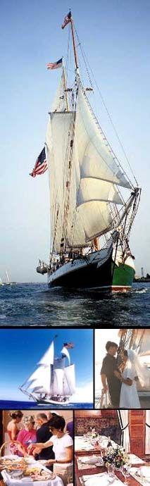 The Tall Ship Schooner Liberty Clipper Offers Boston Harbor - Boston tall ship cruise