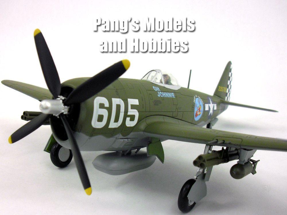 Republic P-47 Thunderbolt 1/48 Scale Diecast Metal Airplane