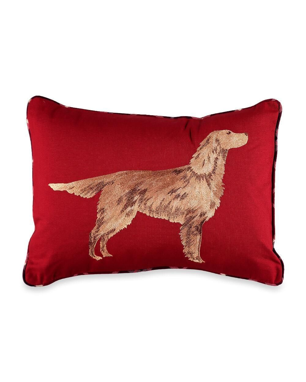 Decorative Bed Pillows 115630 58 Red Laura Ashley