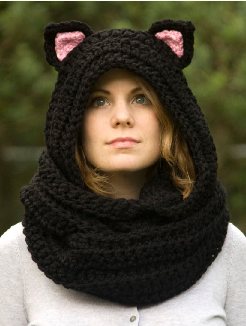b692f7468d2b Crochet Animal Scoodie Pattern Free Tutorial Plus Video Instructions Crochet  Hooded Scarf