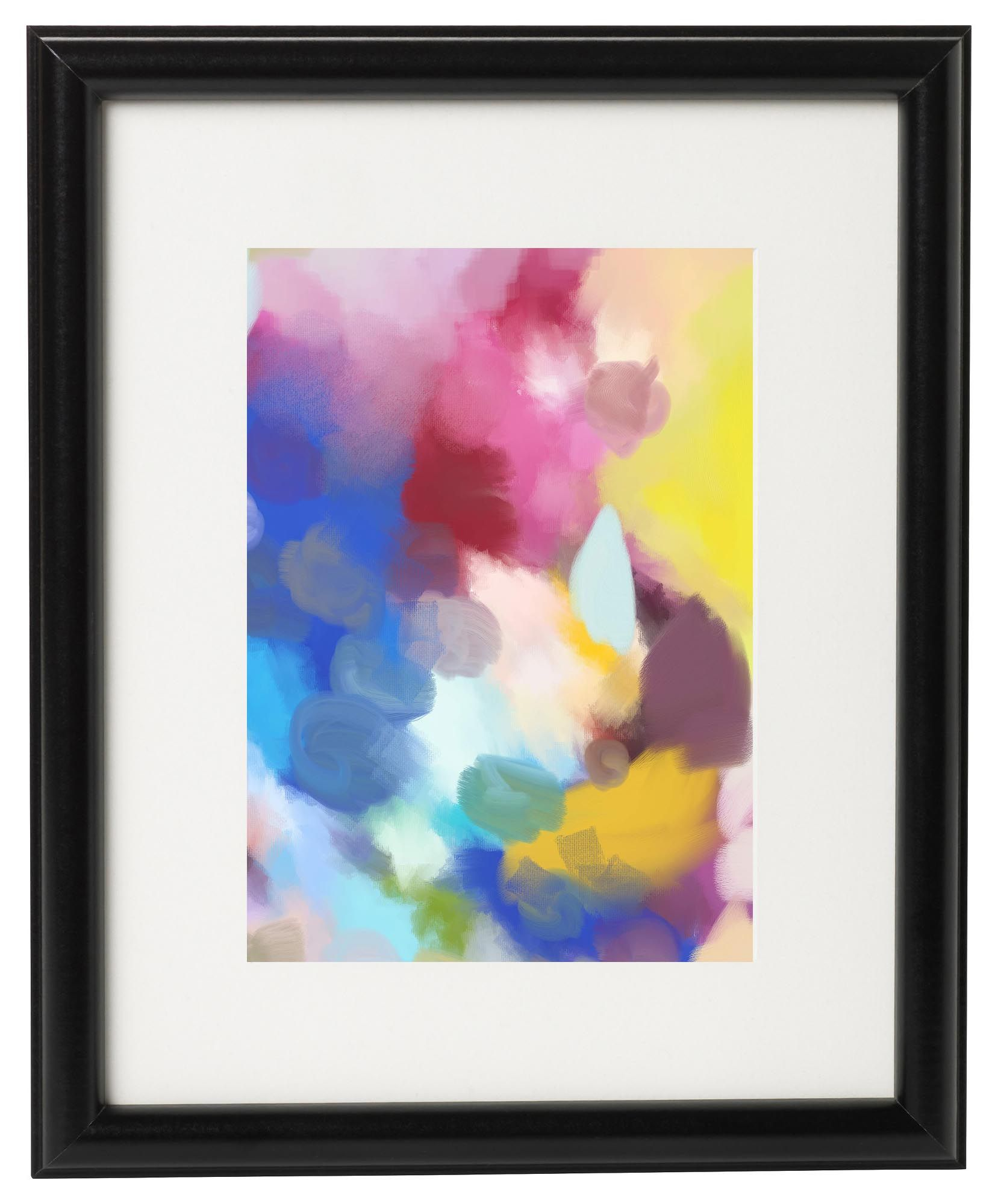Gallery Wall Free Printables Download All 8 Colourful Abstract