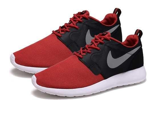 new product 69f9e 5fd1c UK - Nike Roshe Run Hyperfuse QS Womens Red Dark Black