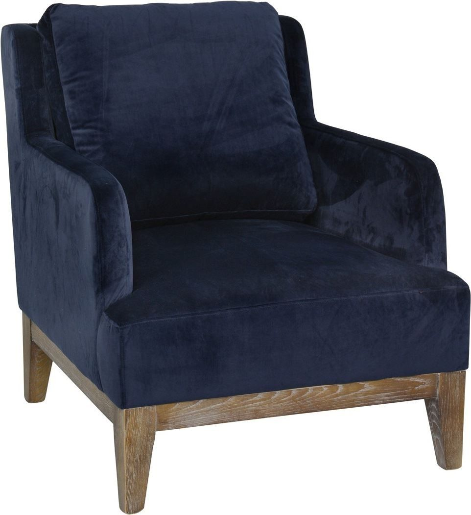 Simone Club Chair Navy