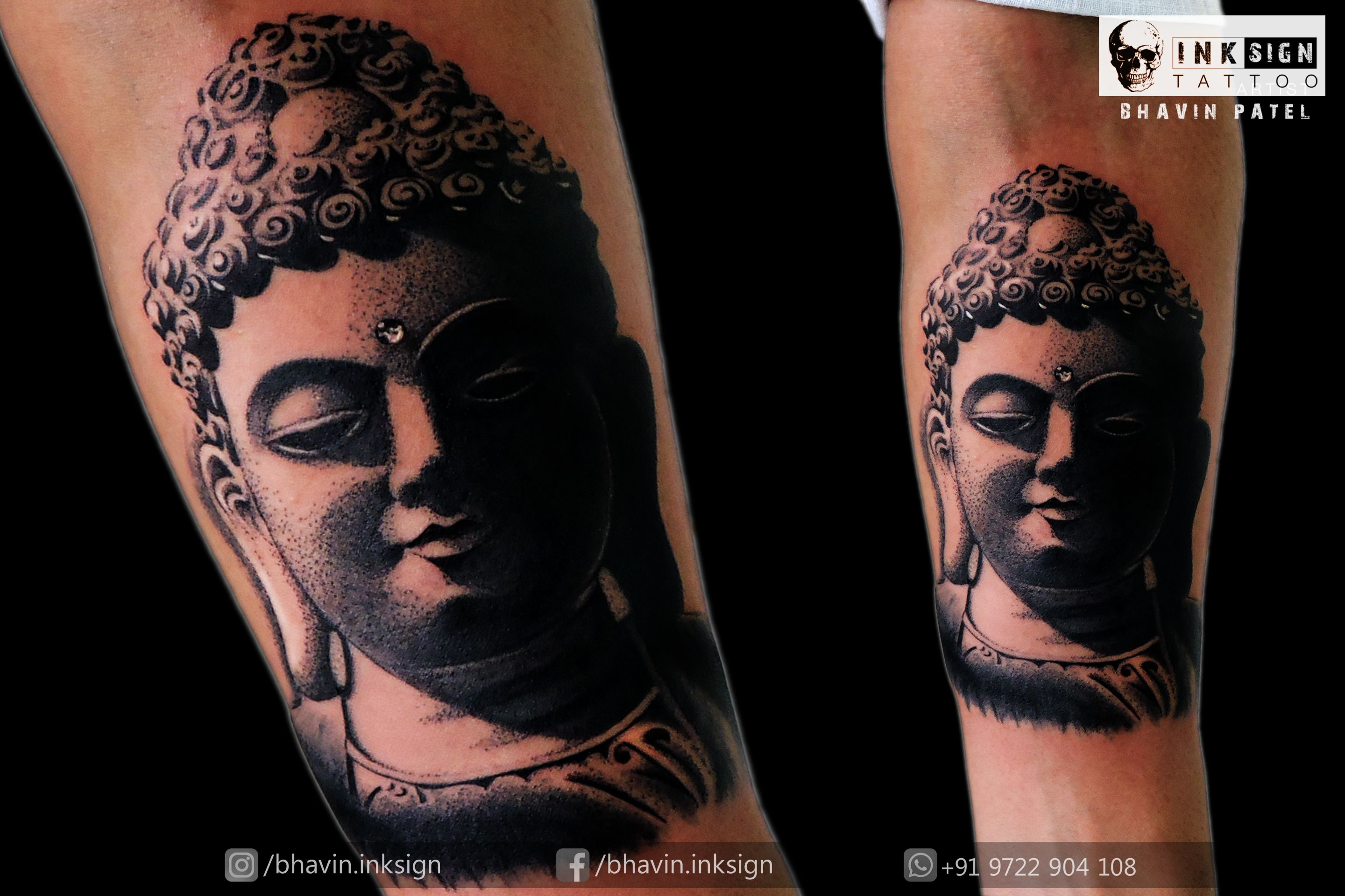 Pin On Inksign Tattoos India Bhavin Tattooist