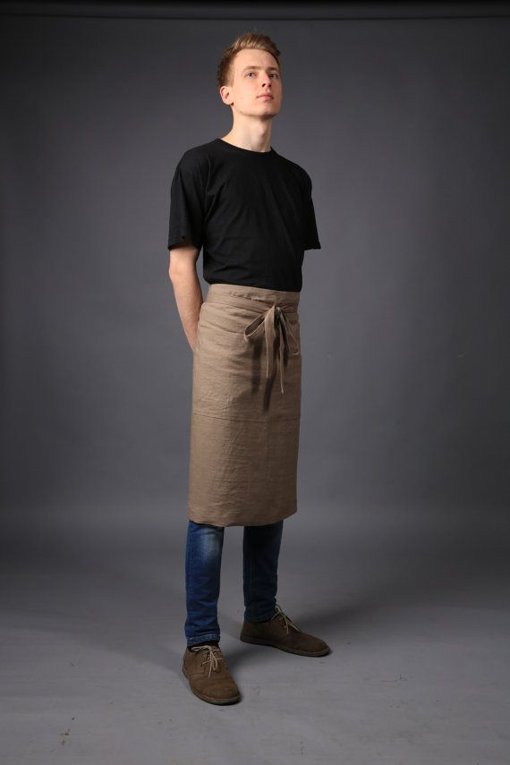 42cd93873b4 Linen apron