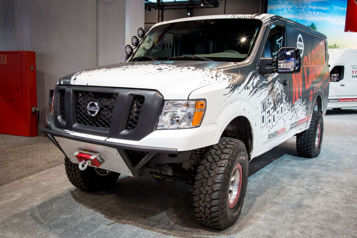 Nissan Nv Cargo X Photo Gallery News From Cars Com Nissan Vans Nissan Truck Camping
