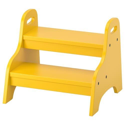 Trofast Aufbewahrung Mit Boxen Weiss Gelb Ikea Schweiz In 2020 Step Stool Kids Childrens Step Stool Step Stool