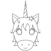 Unicorn Mask Coloring Page Unicorn Coloring Pages Coloring Pages Free Printable Coloring Pages