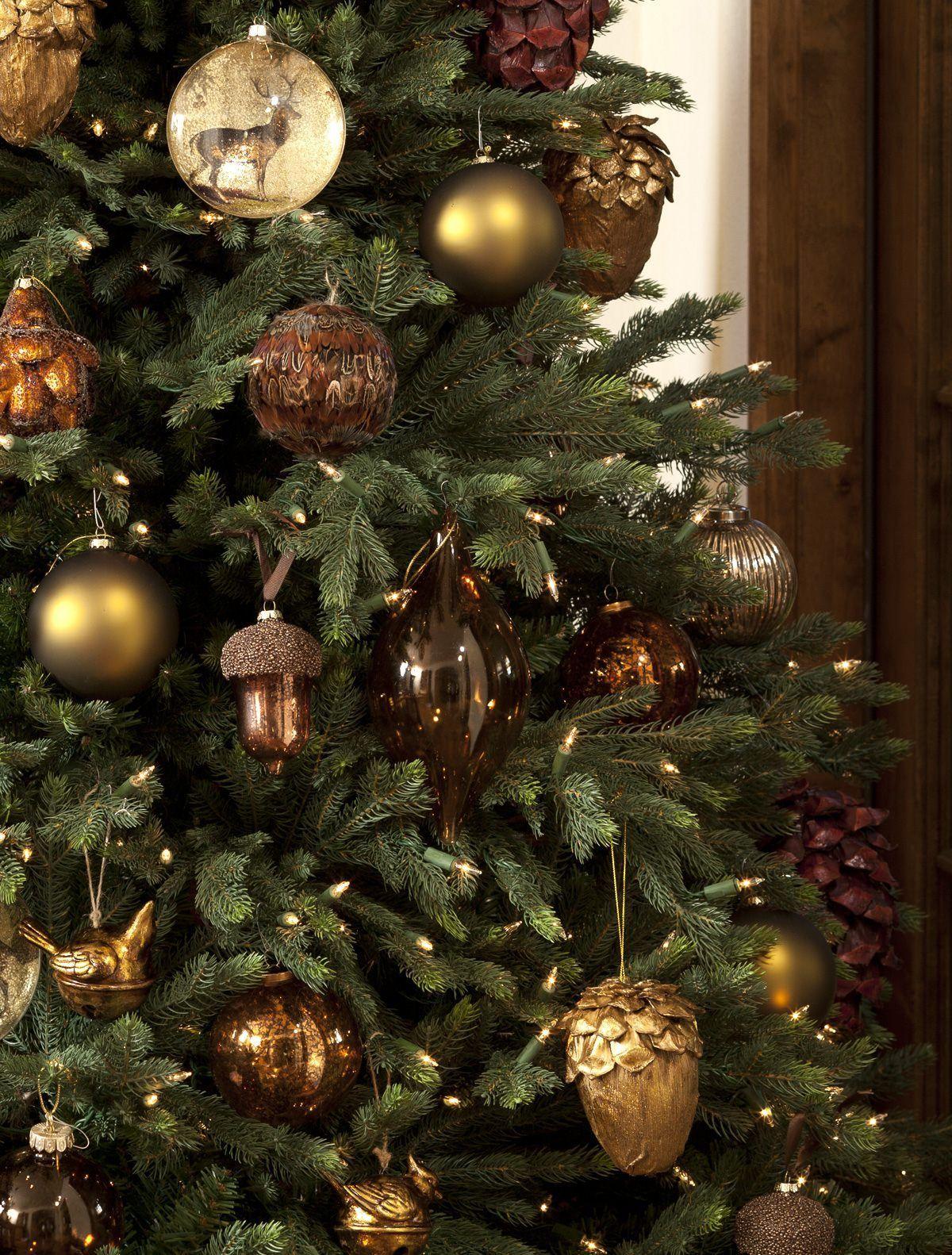 Какими цветами украсить елку на Новый год 2019 — 10 стилистических направлений #kerstboomversieringen2019