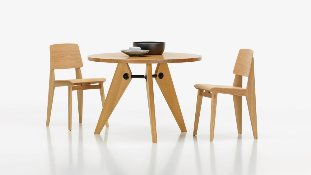 Vitra Reissues Chaise Tout Bois By Jean Prouve In 2020 Vitra Furniture Vitra Vitra Design