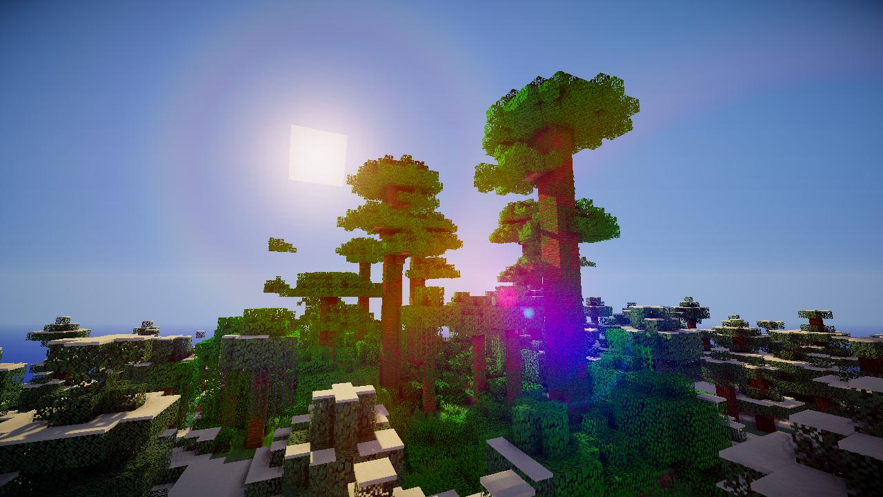 minecraft sunset shader - Google Search  Minecraft, Minecraft
