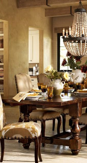 Delightful Tuscan Rustic Love The Paint Color