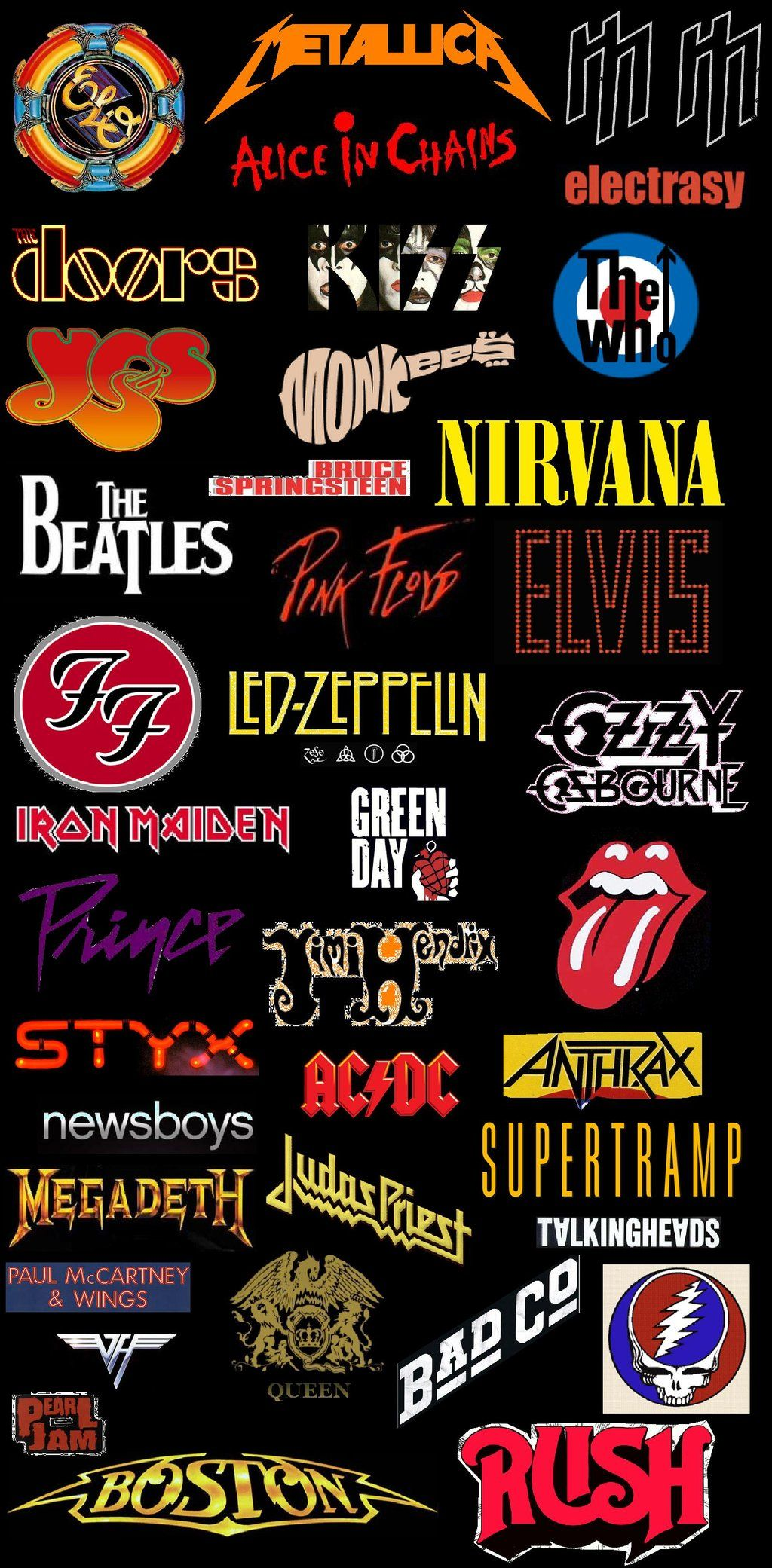 Classic Rock Revolution Logos Stocking Stride by EspioArtwork on DeviantArt