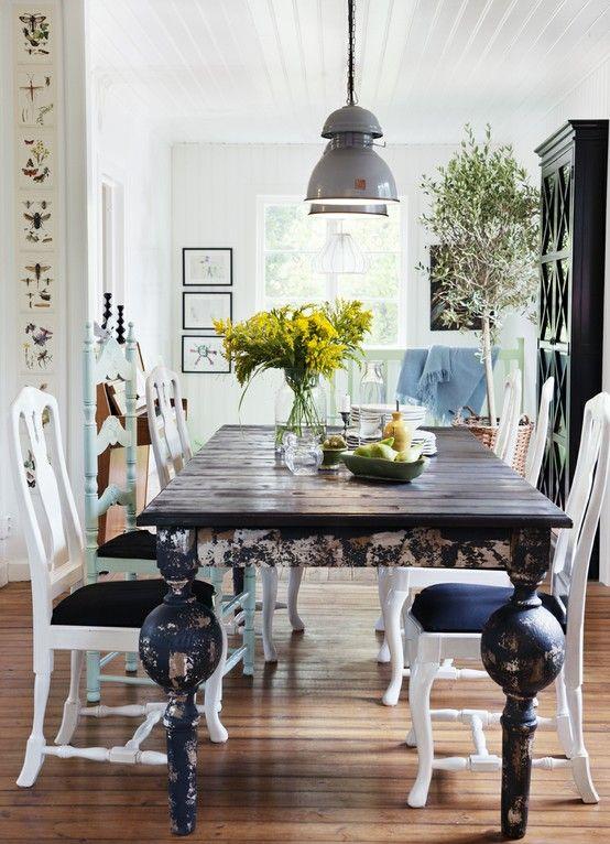 45+ Rustic elegant dining table Top