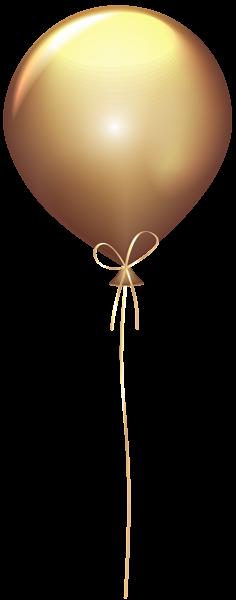 gold balloon transparent clip art