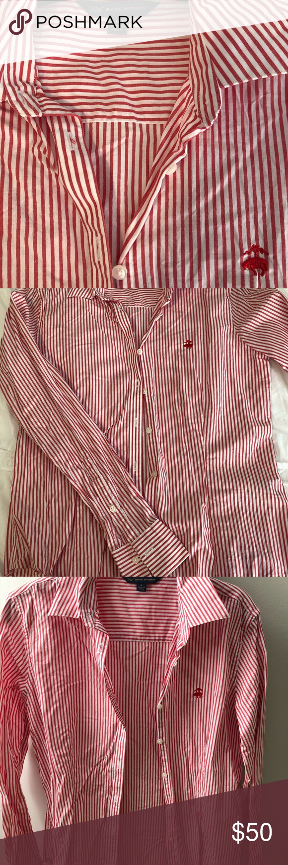 c87cfd02f6b Womens Red And White Vertical Striped Shirt - Ortsplanungsrevision ...