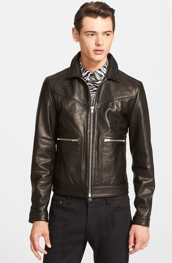 Nordstrom Highlights Men's Leather Jackets | Leather jackets ...