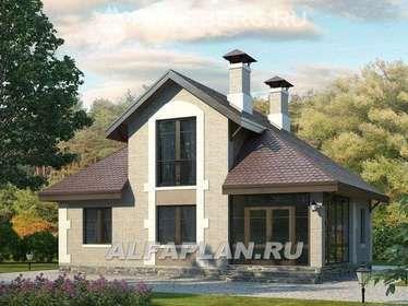 Проекты домов и коттеджей, бесплатно чертежи с фото ...