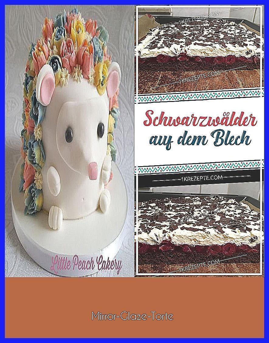 Photo of Spiegel-Glasur-Torte –  Igelkuchen Dekorieren im Jahr 2018 t Kuchen Igelkuchen F…