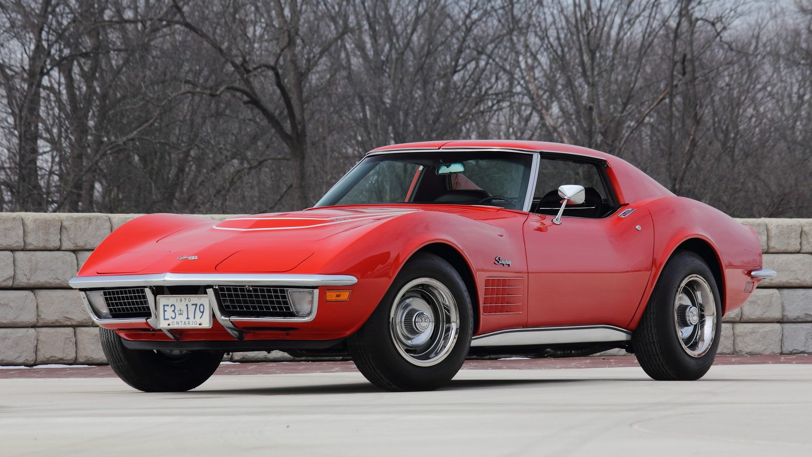 1970 Chevrolet Corvette Zr1 Presented As Lot S141 At Indianapolis In