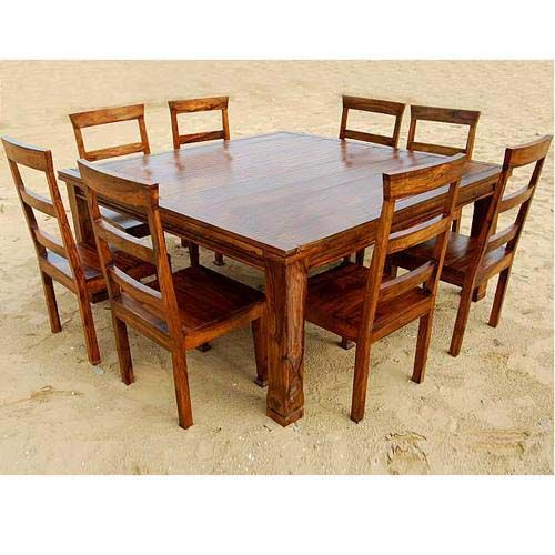 8 Person Round Table