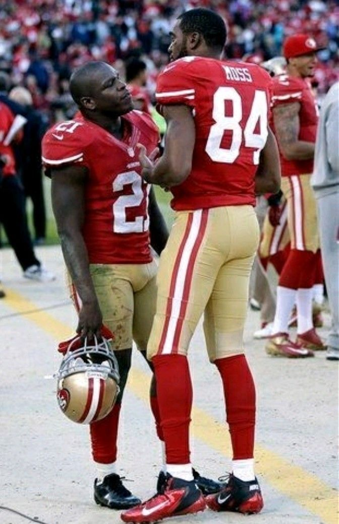 GORE & MOSS (With images) Nfl 49ers, 49ers football, San