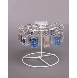 Single Tier Mini Retail Spinner With 12 Hooks 1 Per Box